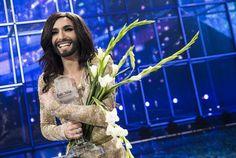 Conchita Wurst, ganadora de Eurovisión