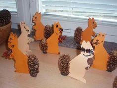 Bildergebnis für tvořeníčko s dětmi Animal Crafts For Kids, Fall Crafts For Kids, Toddler Crafts, Diy For Kids, Autumn Crafts, Autumn Art, Nature Crafts, Fall Projects, Projects For Kids
