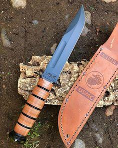 Coltelleria Collini Store - knives and tools Ka Bar Knives, Cool Knives, Knives And Tools, Knives And Swords, Military Knives, Combat Knives, Tactical Knives, Tactical Gear, Usmc