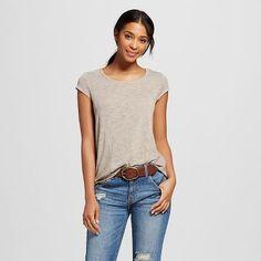 Women's Short Sleeve Knit Tee - Mossimo™