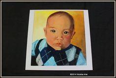 Obra: James (Hijo de Howie D Backstreet Boys Tecnica Oleo  Medidas Fibro facil 30 x 30 Año 2013  Replica