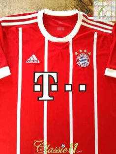 dbbc74fa579 2017 18 Bayern Munich Home Football Shirt (XL)