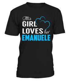 "# This Girl Loves her EMANUELE .     Special Offer, not available anywhere else!Available in a variety of styles and colorsBuy yours now before it is too late! Secured payment via Visa / Mastercard / Amex / PayPal / iDeal How to place an order  Choose the model from the drop-down menu Click on ""Buy it now"" Choose the size and the quantity Add your delivery address and bank details And that's it!"