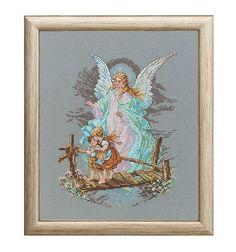 Frame, Home Decor, Dressmaking, Guardian Angels, Back Stitch, Threading, Templates, Photo Illustration, Picture Frame