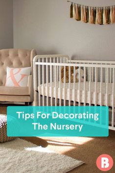 Planning and decorating a nursery can be pretty overwhelming, we know. But try not to stress, and consider these tips from moms who've been there. Nursery Themes, Nursery Ideas, Nursery Decor, Small Nurseries, Baby Travel, Travel Checklist, Baby Coming, Traveling With Baby, Nursery Furniture