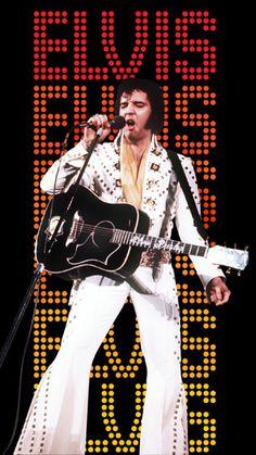 #Elvis Presley in Las Vegas - http://www.guitar-classroom.com