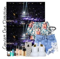 """""""Concert One Direction"""" by maria-eduarda-fortunatti ❤ liked on Polyvore featuring beauty, Elizabeth and James, Casetify, adidas, MAC Cosmetics, Chanel and Maybelline"""