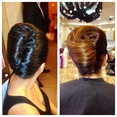 Elegant up do!