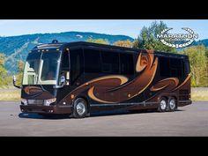 ▶ Marathon Coach 2015 Custom Coach #1221, Prevost H3-45 Double Slide - YouTube