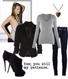 """""""Kate Beckett"""" by joychar ❤ liked on Polyvore"""