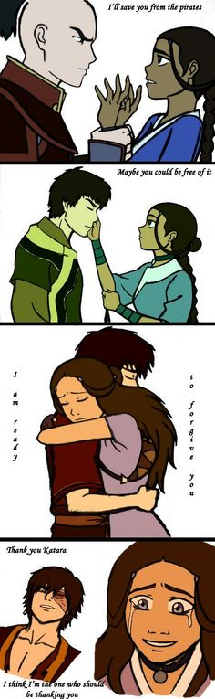 How Zutara changed throughout the seasons.