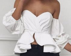 White Off Shoulder, Off Shoulder Blouse, Tops, Women, Style, Fashion, Swag, Moda, Women's