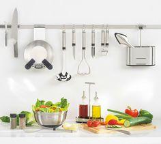 Kitchen Utensil Rails