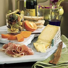 86 Fresh Christmas Decorating Ideas | Instant Italian Cheese Tray | SouthernLiving.com
