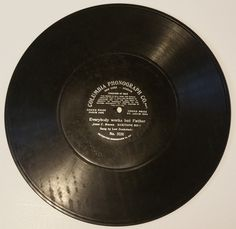 Everybody Works But Father 78 RPM Record Columbia Phonograph # 3251 (#2223) by CherishedAgain on Etsy