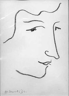 portrait - Henri Matisse