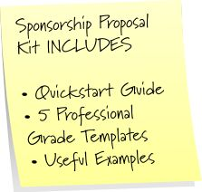 how to make a professional sponsorship proposal