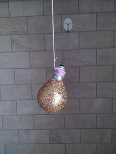 , light bulb diy for christmas / decorazione natalizia
