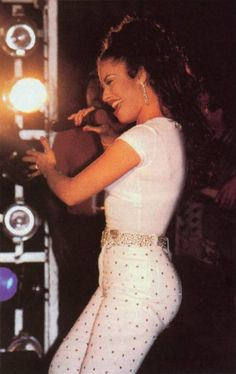 Selena Quintanilla-Perez was such an amazing performer. She really connected with the audience & the songs that she was singing. She made everyone feel good when she sang. Her voice was & still is such a joy to listen to. She held that emotion in her voice everytime she sang that every good performer needs.