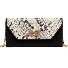 Animal Print 'faye' Envelope Clutch ($95) ❤ liked on Polyvore featuring bags, handbags, clutches, snakeskin print, leather hand bags, metallic clutches, leather shoulder handbags, leopard envelope clutch and shoulder handbags