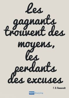 Citation, gagnants et perdants - F. The Words, More Than Words, Cool Words, French Phrases, French Words, French Quotes, Me Quotes, Motivational Quotes, Inspirational Quotes
