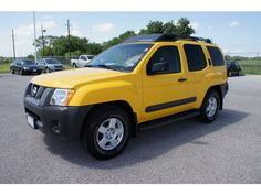 The Solar Yellow Classic Nissan Xterra 2006 - ONLY $12,990 - Get it only at Fort Bend Kia, home to the most fun and awesome Pre-Owned cars in the Houston area.  When you think used Nissan Xterra, think Fort Bend Kia of Rosenberg.  Where you're always treated like family!