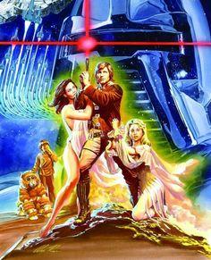 Battlestar Galactica - art by Alex Ross