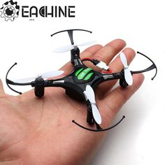 Description: Item name: Eachine H8 Mini RC Quadcopter Frequency: 2.4G Gyro: 6 axis Product size: 13.5*13.5*2.8cm Package size: 14.5*7.8*13.5cm Quadcopter weight: about 20g Product battery: 3.7V 150MAH Remote battery: 3 x AAA dry battery Charging time: 45mins Flying time: 5-7mins R/C distance: about 30m Flying distance: about 30m Color: black,white Mode 2 Left Hand Throttle