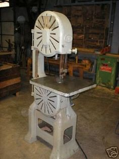 Yates-American Y-16 Bandsaw: Rarer Than Unicorn Blood