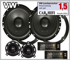 VW Golf VI 2008 onwards car speakers upgrade kit best in test in the German Autohifi magazine test winner boost your car stereo sound Vw Sharan, Passat B6, Vw Cars, Speaker System, Loudspeaker, Black Men, Volkswagen, Front Doors, White Women
