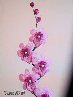 Orchid | biser.info - all about beads and beaded works