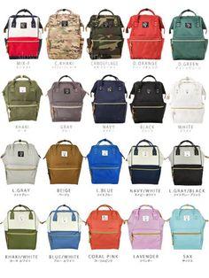 Anello-Japan-LARGE-Backpack-Hot-Selling-Rucksack-Canvas-Japan-Quality-School-Bag