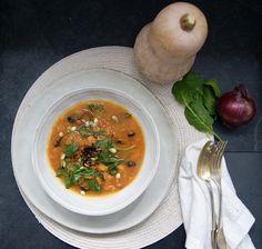 Thai Red Curry, Menu, Vegan, Ethnic Recipes, Food, White Bean, Tin Whistle, Black Beans, Seasonal Recipe