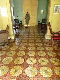 Cuban Floor