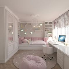 Teenage Girls Bedroom Ideas is part of Dream rooms - Every young girl dreams of a uniquely personal space to call her own, yet nailing down a durable search for a teenage girl's bedroom can be a particularly troublesome undertaking Awesome Bedrooms, Cool Rooms, Cool Teen Bedrooms, Beautiful Bedrooms, Bedroom Ideas For Small Rooms For Teens For Girls, Daybed With Storage, Built In Daybed, Cute Room Decor, Bedroom Themes