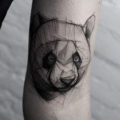 27 Perfect Panda Tattoo Designs