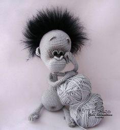 Ravelry: Project Gallery for 084 Baby Monkey pattern by LittleOwlsHut