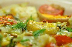 Ofengemüse mit Kapern und Zitronen
