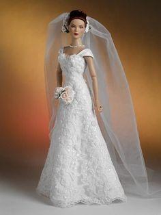 Barbie Bridal, Barbie Wedding Dress, Wedding Doll, Barbie Gowns, Barbie Dress, Barbie Clothes, Bridal Dresses, Barbie E Ken, Barbie House