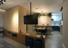 Tudo aberto neste ap Flat Screen, Architecture Office, Everything, Houses, Blood Plasma, Flatscreen, Dish Display