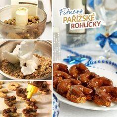 Fitness pařížské rohlíčky vánoční cukroví recept Bajola Christmas Candy, Recipe Box, Sweet Tooth, Cereal, Food And Drink, Keto, Fitness, Cooking, Breakfast