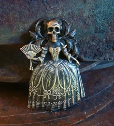 Gothic Miss Bella Victorian Lady Haunt by ParadiseFindings on Etsy