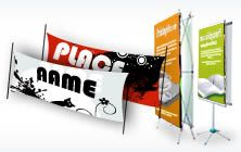 340 gsm Vinyl Banners - Our mesh banners are printed on a banner vinyl, and the idea of these banners is that the holes in the material allow wind to pass through them. Mesh Banner, Banner Stands, Pop Up Tent, Outdoor Banners, Vinyl Banners, Banner Printing, Tools, Printed, Instruments