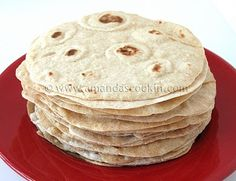Low fat homemade flour tortillas. And easy!
