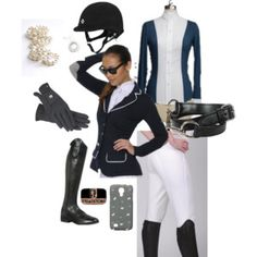 """""""Show Ring Ready"""" by equitainment on Polyvore"""