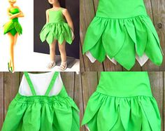 SHIPS NEXT DAY/Tinker bell dress + baby tinker bell dress +tinkerbell dress