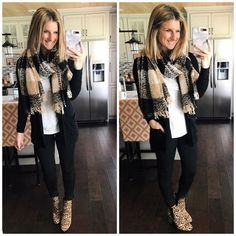 How to Wear Leopard Booties