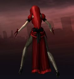 My character Grelle from City of Heroes. This was the R-shitei costume :D