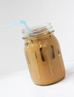 how to make DECAF iced coffee.  it's cold brewed, but not made the same.  it's stronger.  sounds good, want to try.   lj
