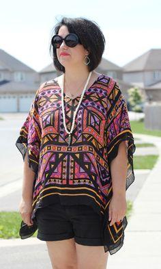 Scarf Top; Glam Summer Style - torontoshopoholic